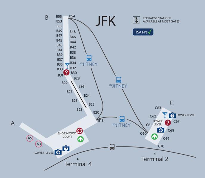 JFK's enormous Terminal 4