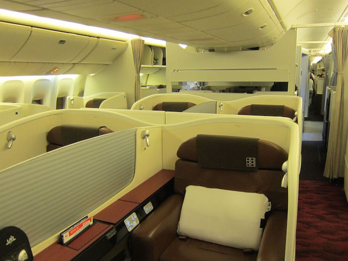 Japan Airlines First Class 01