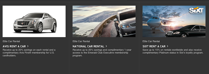 Free Car Rental Elite Status With World Elite MasterCard One