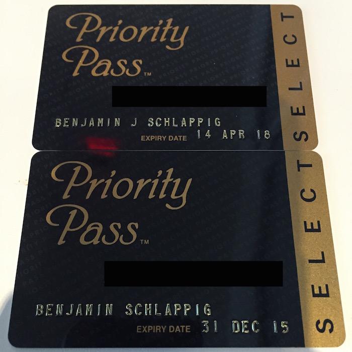Priority Pass Cards
