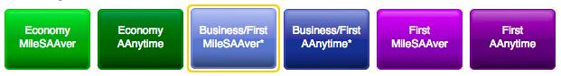 AAdvantage-award-types