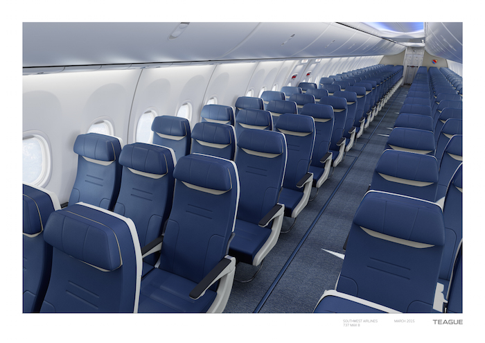 5752d970ef Southwest Reveals New Seats... Yay  - One Mile at a Time