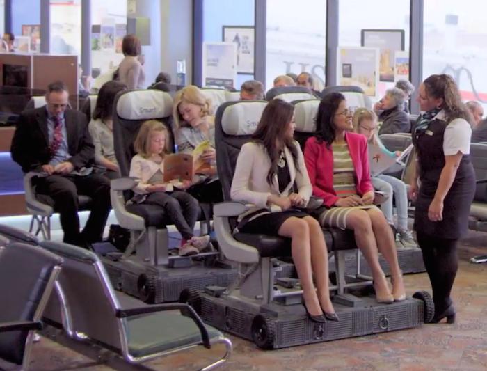 Westjet Smart Seats