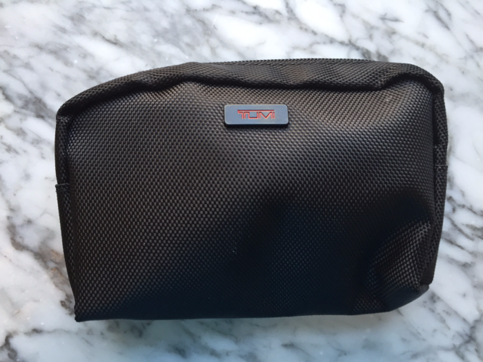 DeltaOne Tumi amenity kit