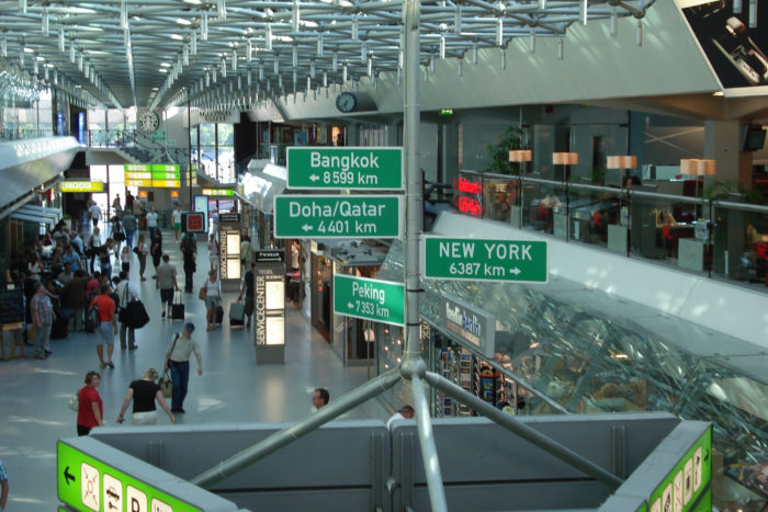 Berlin Tegel Airport, the Port Authority of the skies