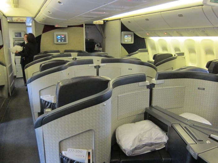 Review American Airlines First Class 777 200 Beijing To