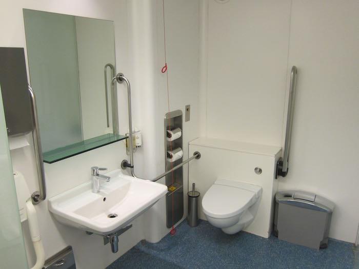 hospital bathroom. British Airways Concorde Room Cabanas  Where Hospital Bathrooms Meet Sperm Banks One Mile at a Time