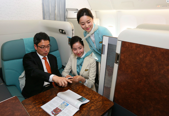 Korean Air New First Class