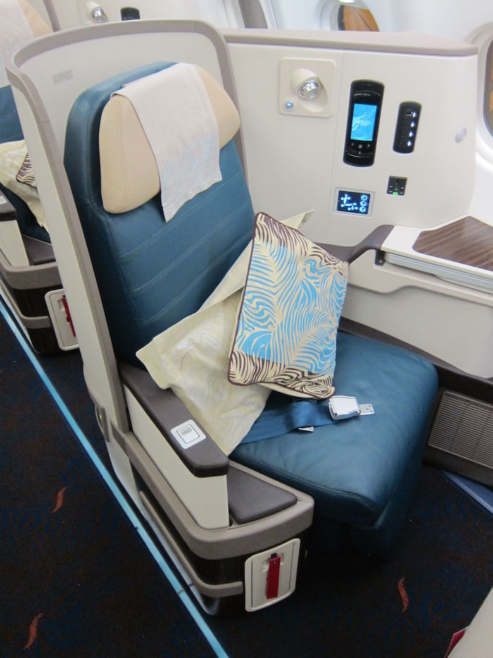 Srilankan Airlines A330 Business Class 03