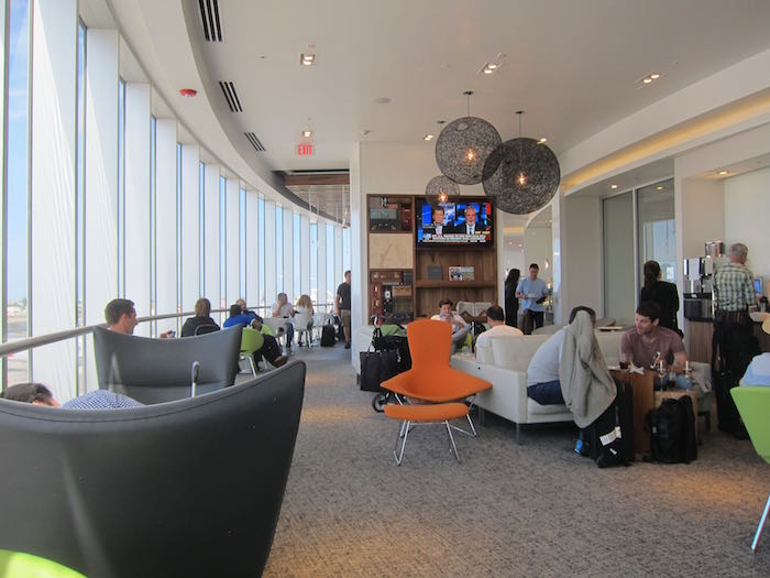 Review Amex Centurion Lounge Miami Airport Mia One Mile