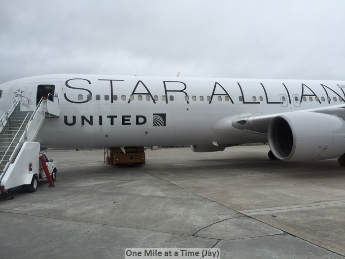 UA 958 on the ground in Goose Bay (courtesy of Jay)