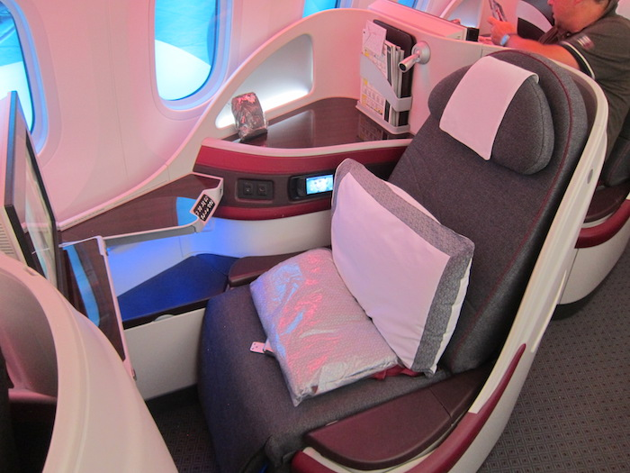 Qatar Airways 787 Business 1