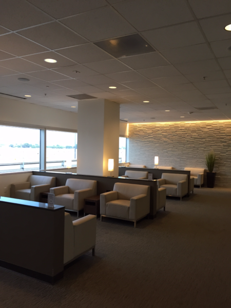 More seating at the Club at SJC