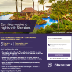 Sheraton Free Weekends