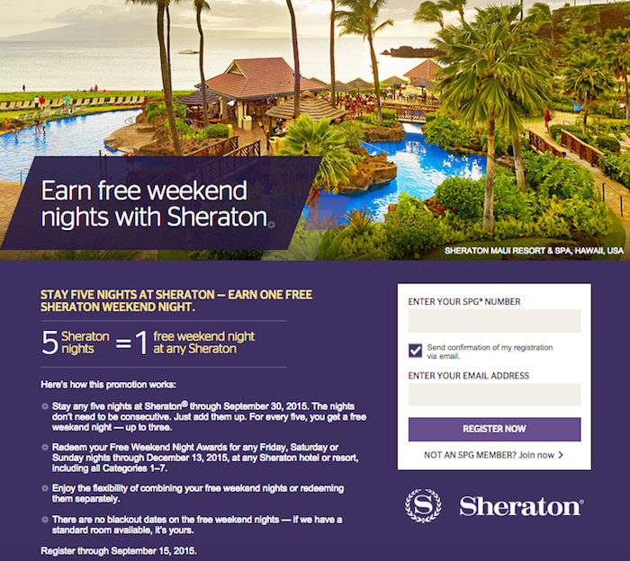 Sheraton-Free-Weekends