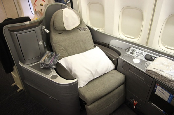 Nobody got to fly in this seat for $100