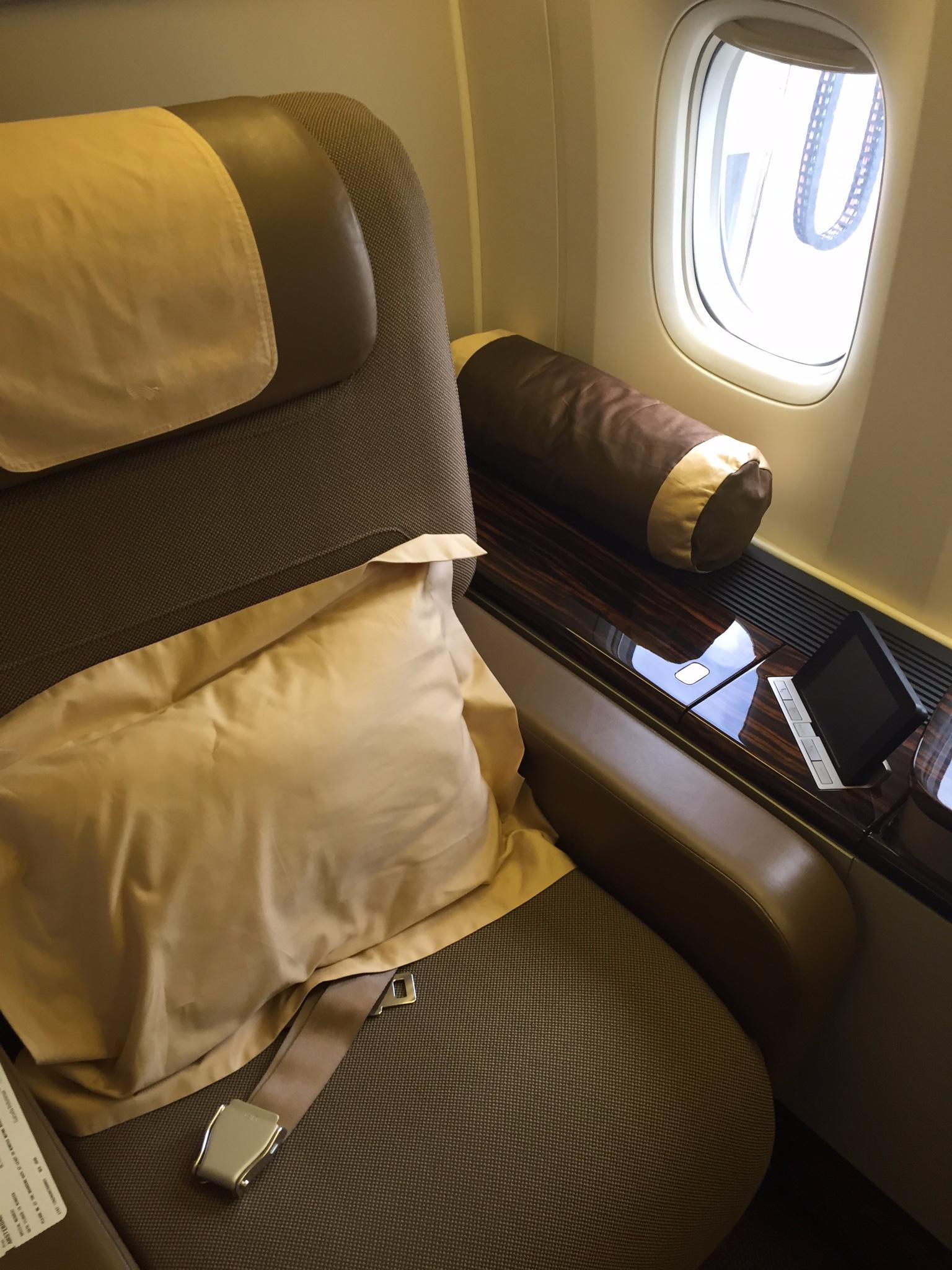 Garuda Seat 2