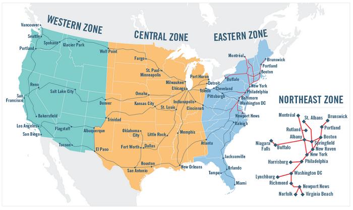 Book trips using zones  soon