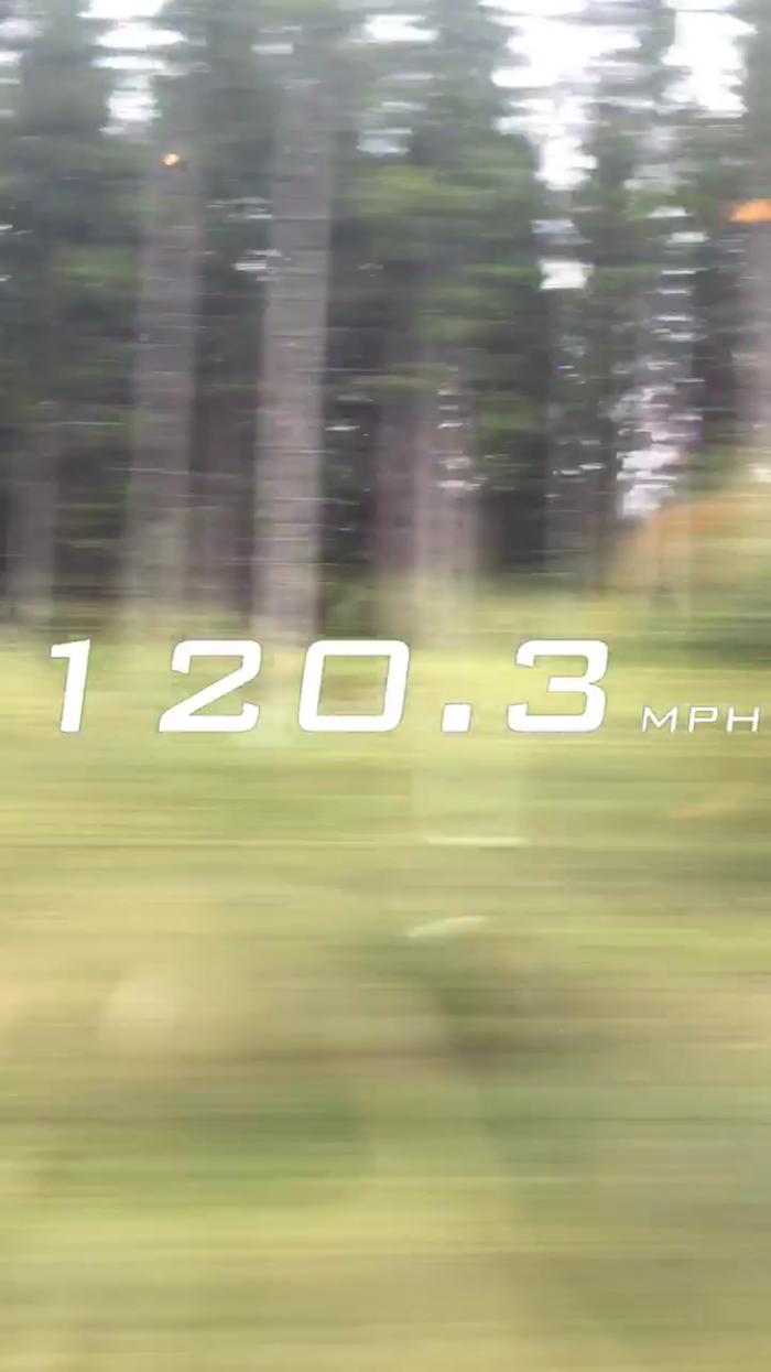 Arlanda-Express-Speed