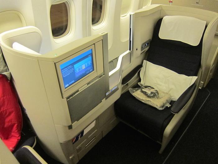British Airways Business Class 1