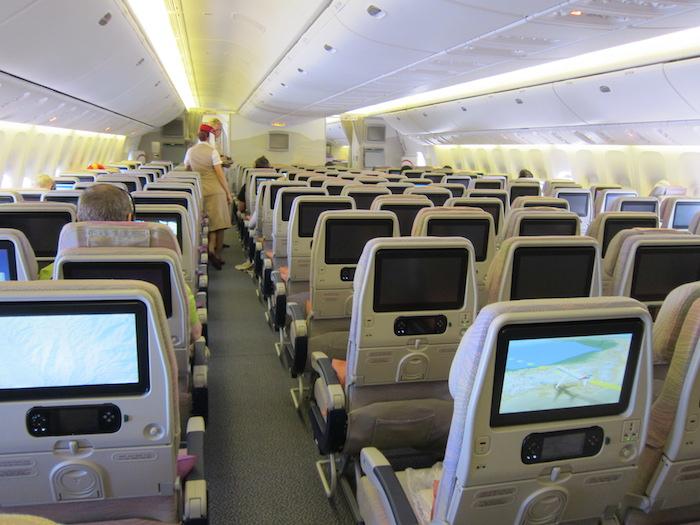 Emirates 777 Economy