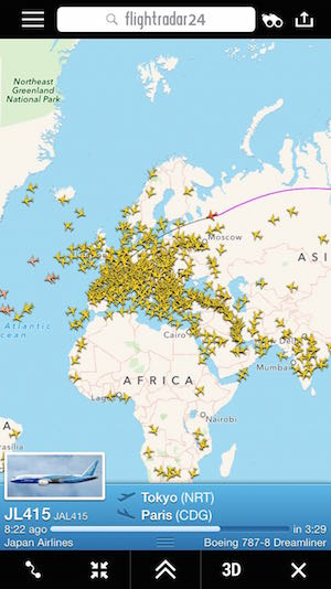My New App Obsession: Flightradar24 | One Mile at a Time