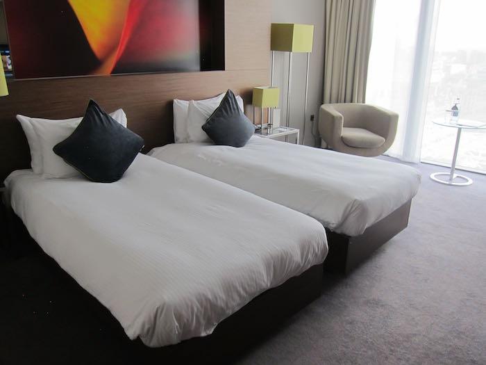 Simple Hilton Manchester Deansgate Hilton Manchester twin room beds
