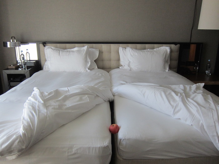 I Don T Understand European Hotel Twin Beds One Mile At