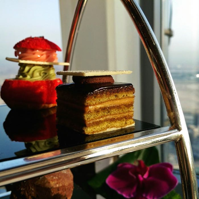 Review Afternoon Tea At At Mosphere Burj Khalifa Dubai One Mile At A Time