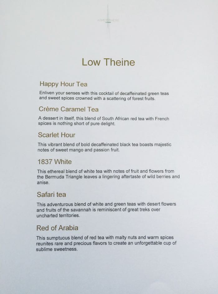 Afternoon Tea Dubai Burj Khalifa Menu 6