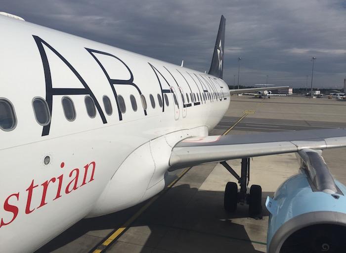 Austrian Business Class A320 – 5