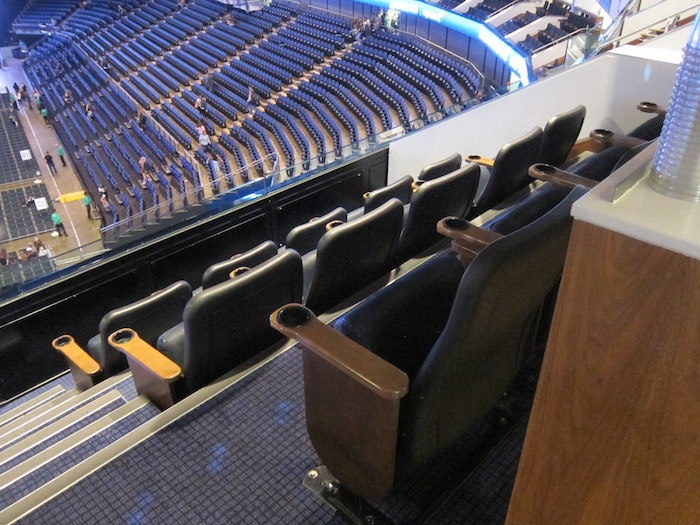 O2 arena suite spg 14 one mile at a time for Hotels 02 arena london