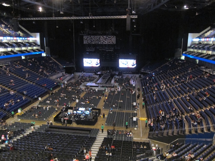 O2 arena suite spg 16 one mile at a time for Hotels 02 arena