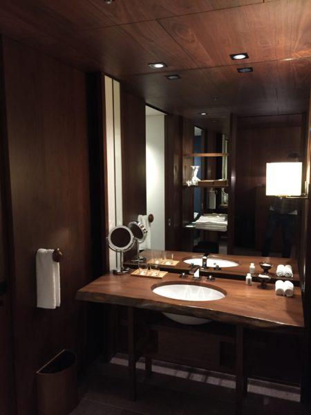 Andaz Twin bathroom