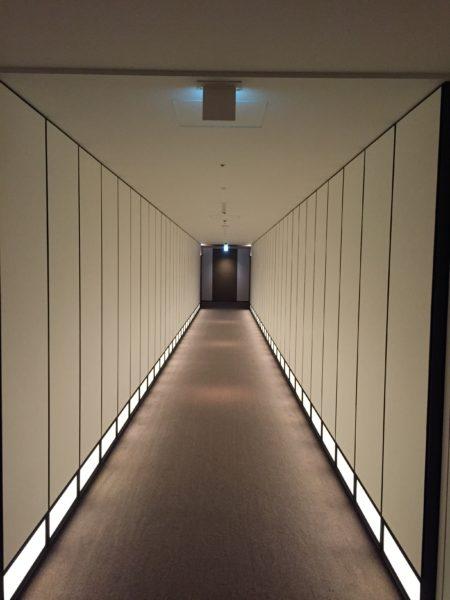 Andaz Tokyo hallways