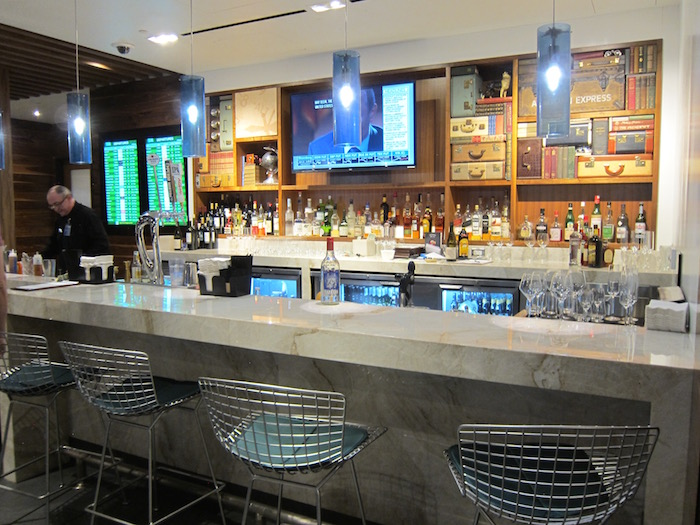 Review Amex Centurion Lounge San Francisco Airport One