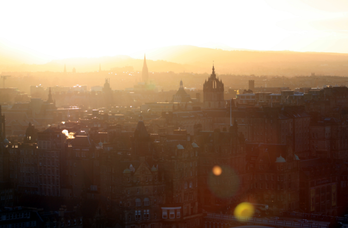 Edinburgh Sunset