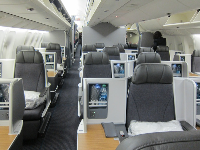 Review American Business Class 767 New York To Madrid