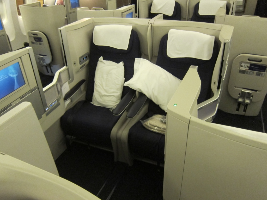 Image result for british airways business class