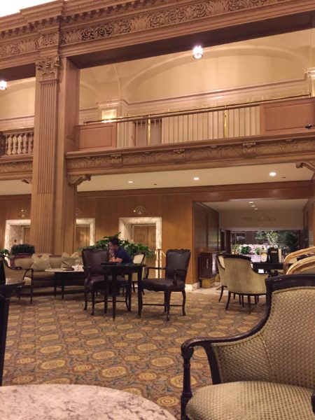 Terraces Bar at the Fairmont Olympic Hotel