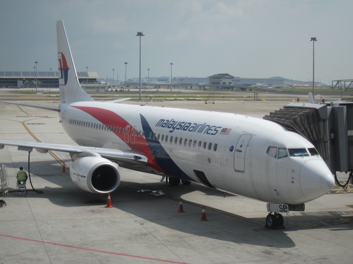 Malaysia Airlines 737