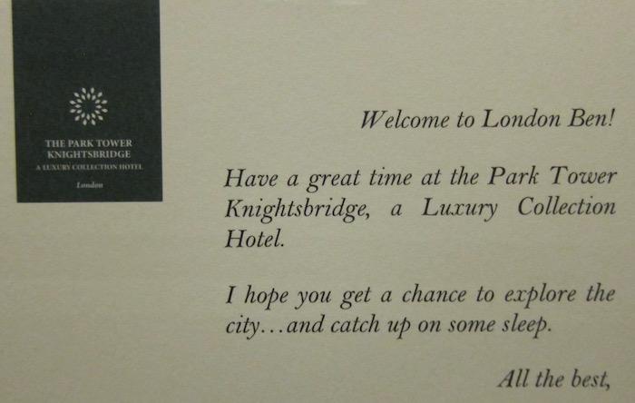 Park tower hotel knightsbridge london 25 one mile at a time park tower hotel knightsbridge london 25 thecheapjerseys Images