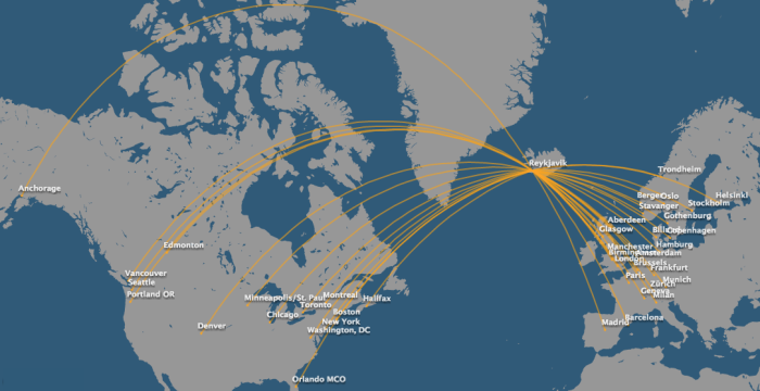 Icelandair-route-map
