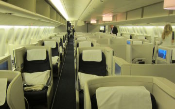 British Airways Business Class 777 – 1