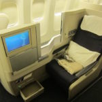 British Airways Business Class 777 – 3