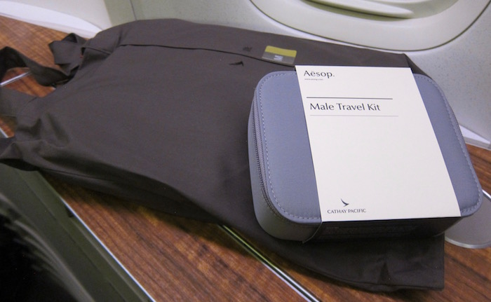 Expressive Cathay Pacific Travel Amenities In-flight Gifts/ Amenity Kits Aeronautica