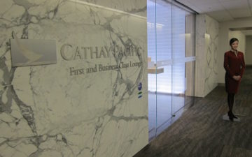 Cathay Pacific Lounge San Francisco – 8