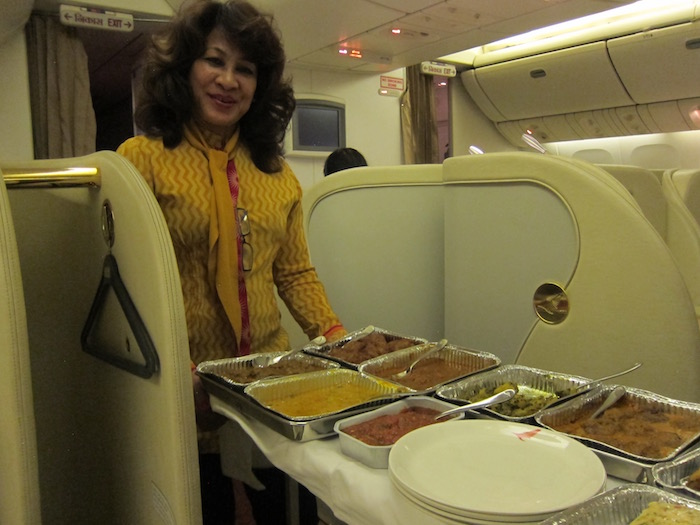 Review: Air India First Class 777 Delhi To San Francisco ...