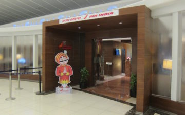 Air India Lounge Delhi Airport – 3