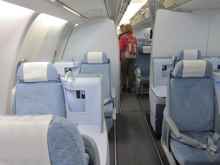 Finnair-Business-Class-A340 - 1